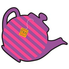 Mad Tea Party Bulk Cutout - Small