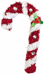 3D Candy Cane Decoration