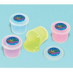 Mini Glitter Putty Containers