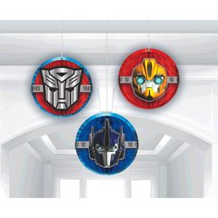 Transformers™ Core Honeycomb Decorations