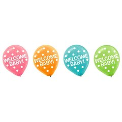Baby Shower Printed Latex Balloons