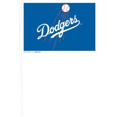 Los Angeles Dodgers Plastic Flags