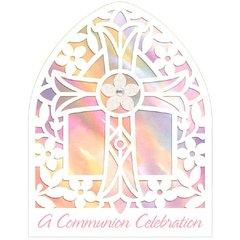 Communion Pink Large Novelty Invitations