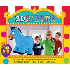 Inflatable Pin the Tail on the Donkey Game