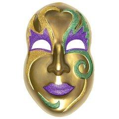 Mardi Gras Jumbo Face Mask