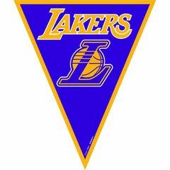 LA Lakers NBA Pennant Banner