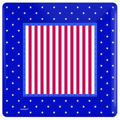 "American Classic Square 10"" Plates"