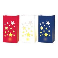 Patriotic LED Luminaries