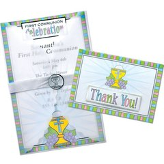 Deluxe Communion Invitations & Thank You Cards Kit