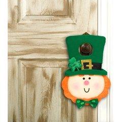 St. Patrick's Day Stuffed Door Hanger