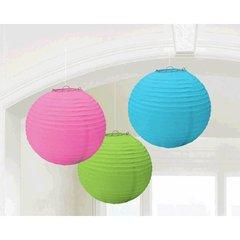 Multi Round Paper Lanterns