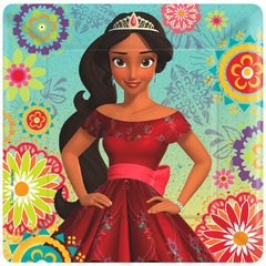 ©Disney Elena of Avalor Square Plates, 7""