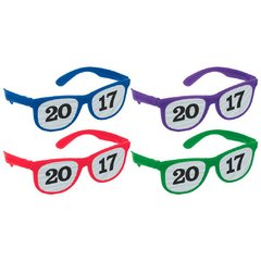 2017 Printed Glasses Multipack - Jewel Tone