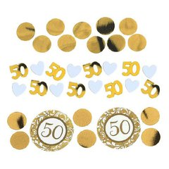 50th Anniversary-Gold Confetti Mixes