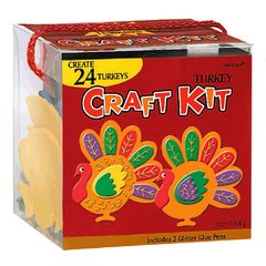 24 Turkeys Craft Kit