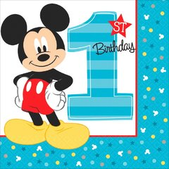 ©Disney Mickey's Fun To Be One Luncheon Napkins