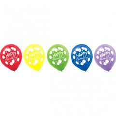 Balloon Bash Latex Balloons, Asst. Colors