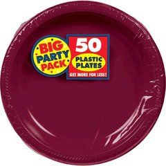 """Berry Big Party Pack Plastic Plates, 7"""""""
