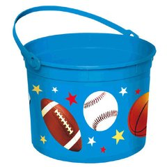 Easter Sports Large Plastic Bucket