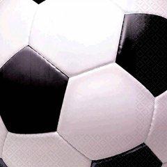 Soccer Fan Lunch Napkins 16ct