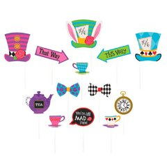 Mad Tea Party Photo Prop Kit