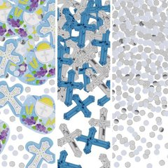 Communion Blue Value Pack Foil & Paper Confetti