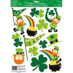 St. Patrick's Day Vinyl Window Decoration