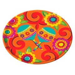 Fiesta Melamine Round Platter
