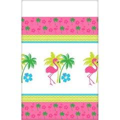 Flamingo Fun Plastic Tablecover