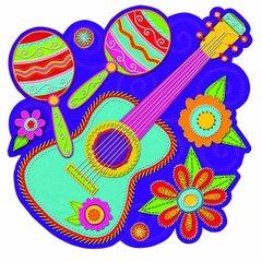 Guitar w/Maracas Cutout