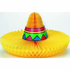 Sombrero Honeycomb Centerpiece