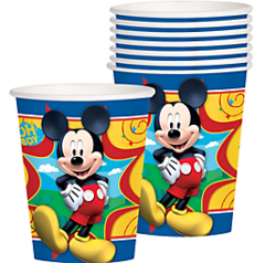©Disney Mickey Mouse cups, 9 oz.