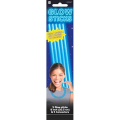 "8"" Blue Glow Sticks"
