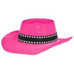 Western Cowboy Hat - Pink