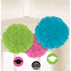 Dream Big Fluffy Hanging Decoration - Tissue Paper