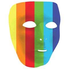Rainbow Full Face Mask