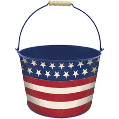 Americana Large Metal Bucket