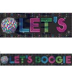Disco 70's Foil Banner