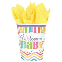 Baby Brights Cups, 9 oz.