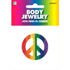 Rainbow Spirit Glitter Body Jewelry