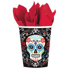 Day of The Dead Cups, 9 oz.