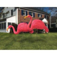 Flamingo Plastic Yard Stakes