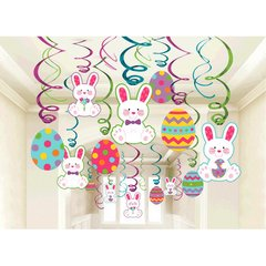 Easter Mega Value Pack Swirl Decorations