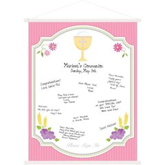 Communion Pink Sign-In Scroll