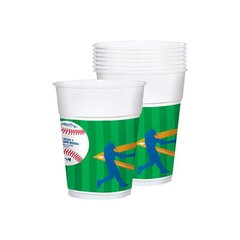 Major League Baseball Plastic Cups