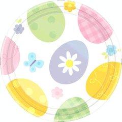 "Eggstravaganza Plates, 7"""