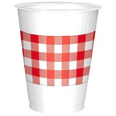 Picnic Party Plastic Cups