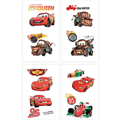 ©Disney Cars Formula Racer Tattoo Favors