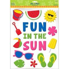 Fun In The Sun Large Gel Cling