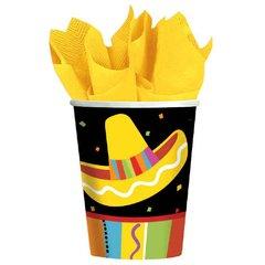 Fiesta Fun Cups, 9 oz.